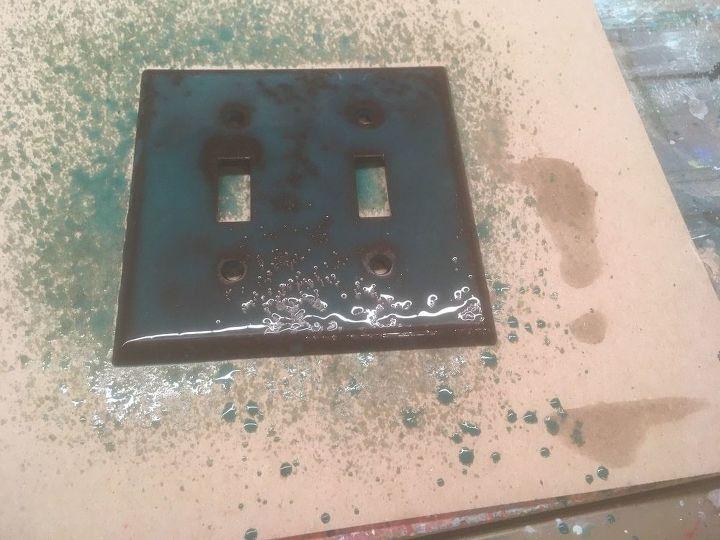just paint unicorn spit light switch covers