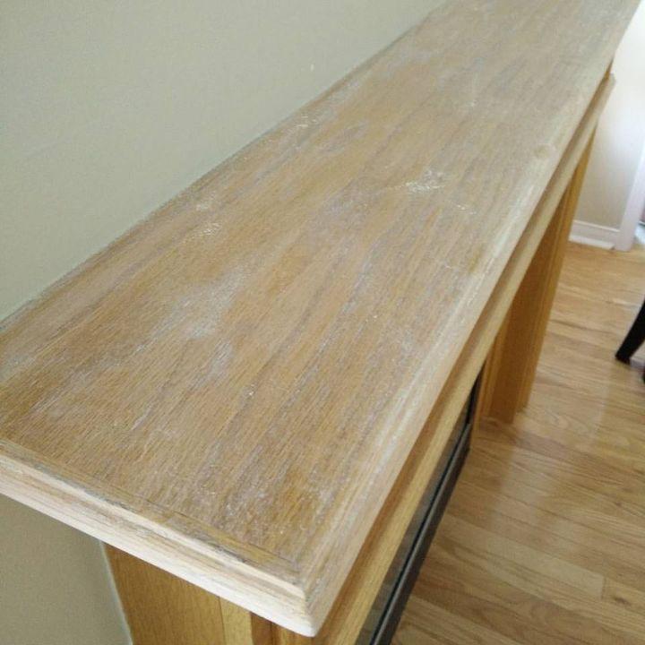 Painting Your Oak Mantel White Hometalk