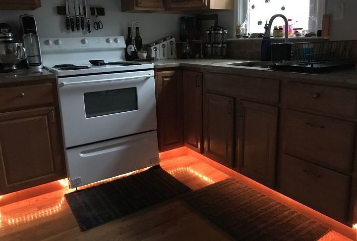 s try these summer 17 diy favorites that can work all year, Hang Brilliant Under Cabinets Lighting