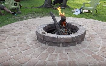 Family Fire Pit - Save up to 85% by DIYing It!