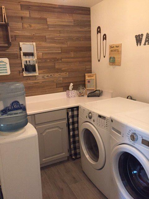 drab to fab modern farmhouse laundry