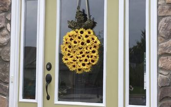 Sunny-flower Pineapple Wreath