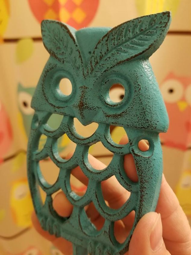 whimsical owl hook project