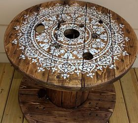 Fabulous Diy Cable Spool Table For Ummmm Wherever Hometalk Best Image Libraries Sapebelowcountryjoecom