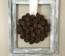 easy pinecone fall decor