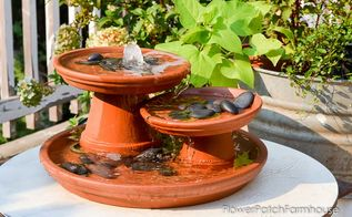 diy terra cotta pot fountain