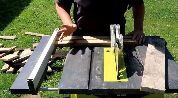 how to build raised beds using pallets