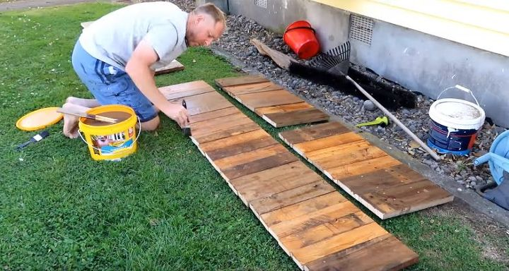 How To Build Raised Beds Using Pallets Hometalk