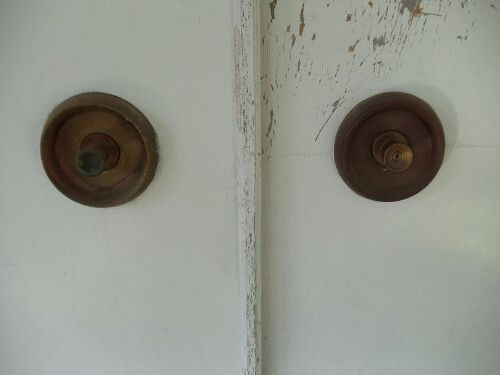 How to clean old brass doorknobs? | Hometalk