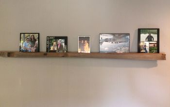 Rustic Gallery Shelf #1