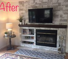 solving an off center fireplace