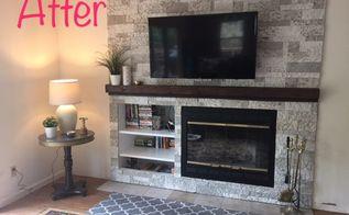 solving an off center fireplace