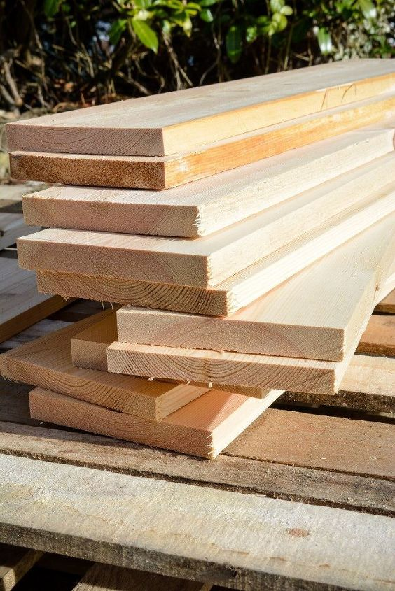 old wood transformed into a loving headboard