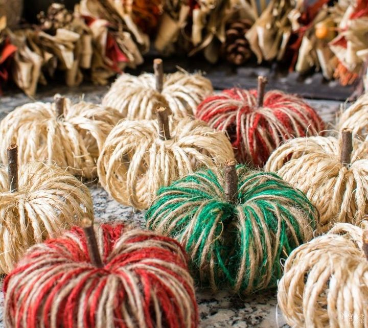 pottery barn inspired outdoor metal pumpkins