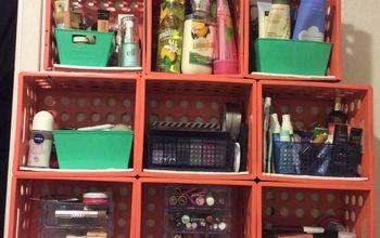 D.I.Y Crate Shelf