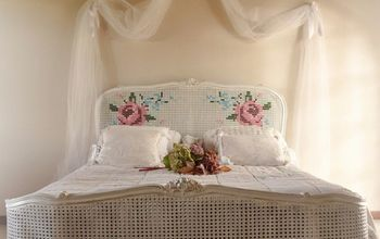 An Embroided Bed!