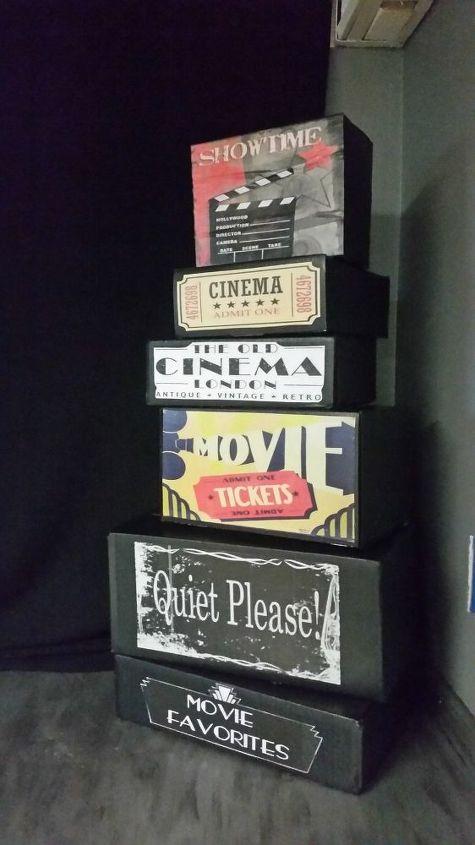 easy fun movie theater room decor