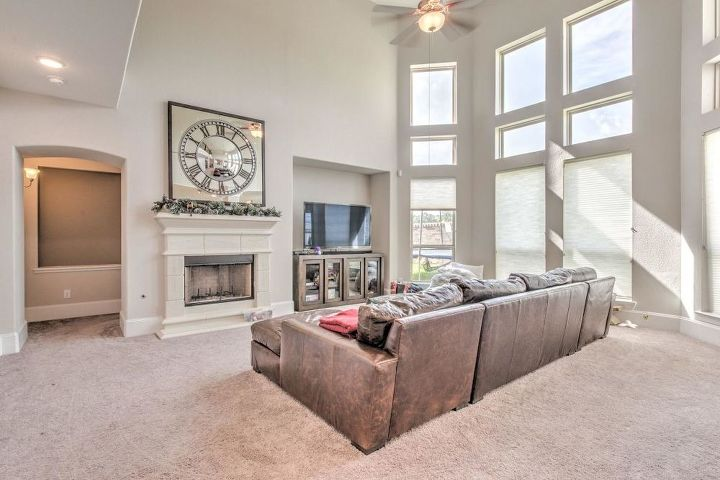Looking for window covering ideas for the 20 ft ceiling ...