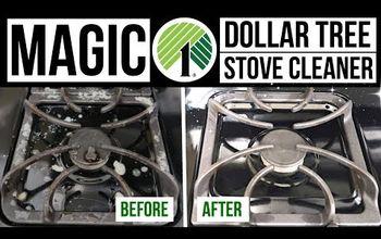 DIY Magic Stove Cleaner // Dollar Tree