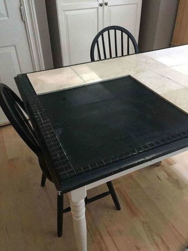 Kitchen table redo part 2 butcher block ikea hack hometalk kitchen table redo part 2 butcher block watchthetrailerfo