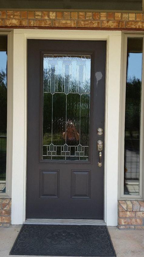 q front door color