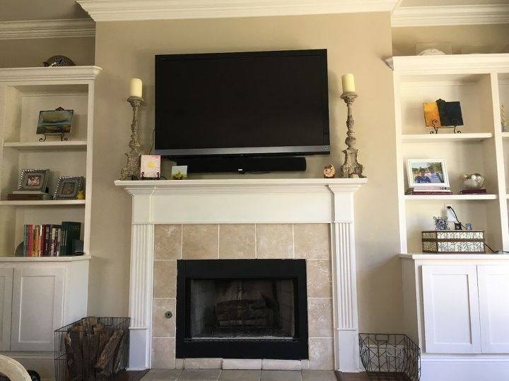 q how can i update this mantle built ins