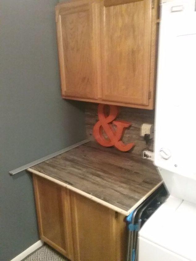 laundry room rearrangement