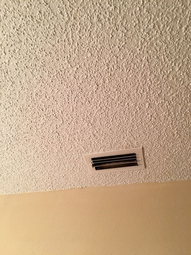 q what is the easiest way to remove popcorn ceilings in your home