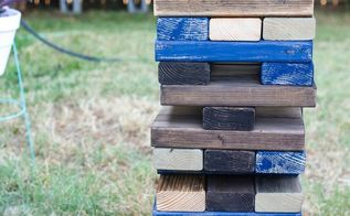diy backyard blocks