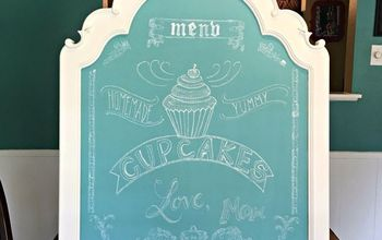 Easy DIY Clean Wipe Chalkboard