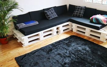 MAKING THE CUTEST DIY PALLET COUCH