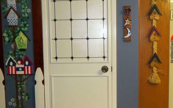Pantry Door  - Make Over From Original Door.