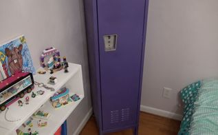 how to update upcycle a metal locker