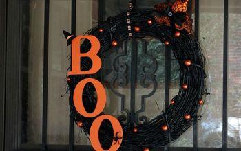 diy halloween wreath dreadfully elegant