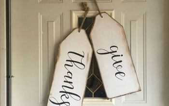 Oversized Thanksgiving Tags