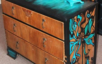 DIY Hand-painted Furniture!