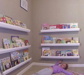 Diy Shelf Ideas Diy Kids Bookshelf From Rain Gutters
