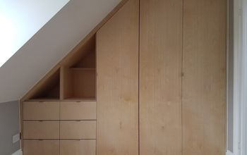 Installing a Sloped Ceiling Wardrobe - in 2 Minutes!