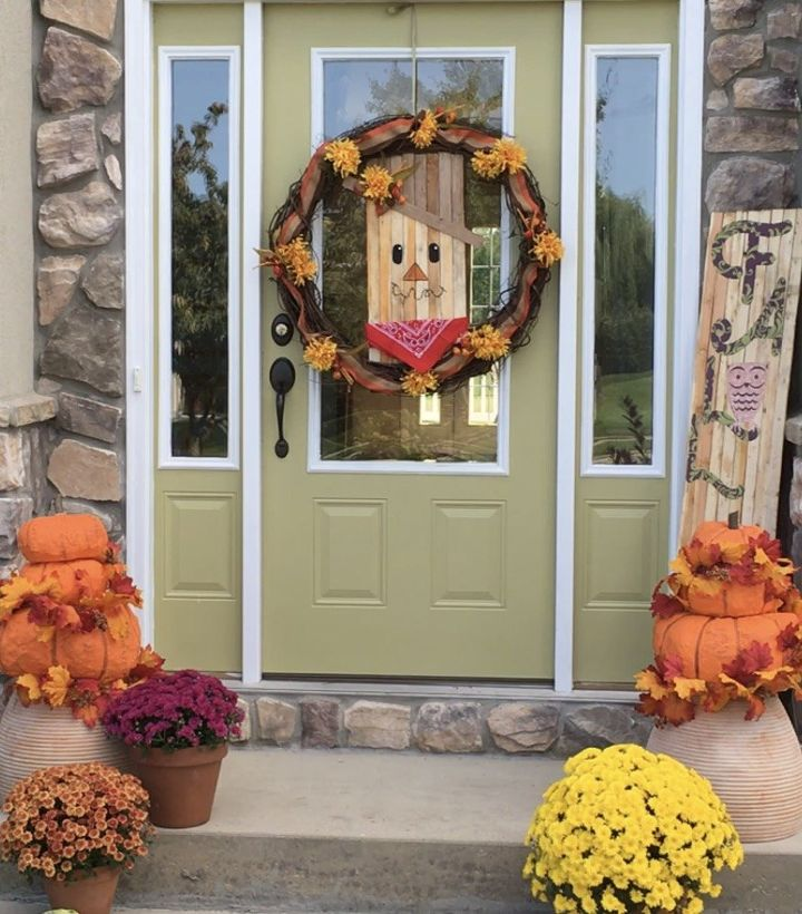 reversible fall to winter wreath
