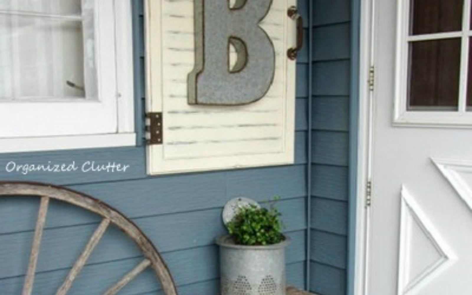 s rip off your cabinet doors for these brilliant upcycling ideas, Turn in into outdoor wall art
