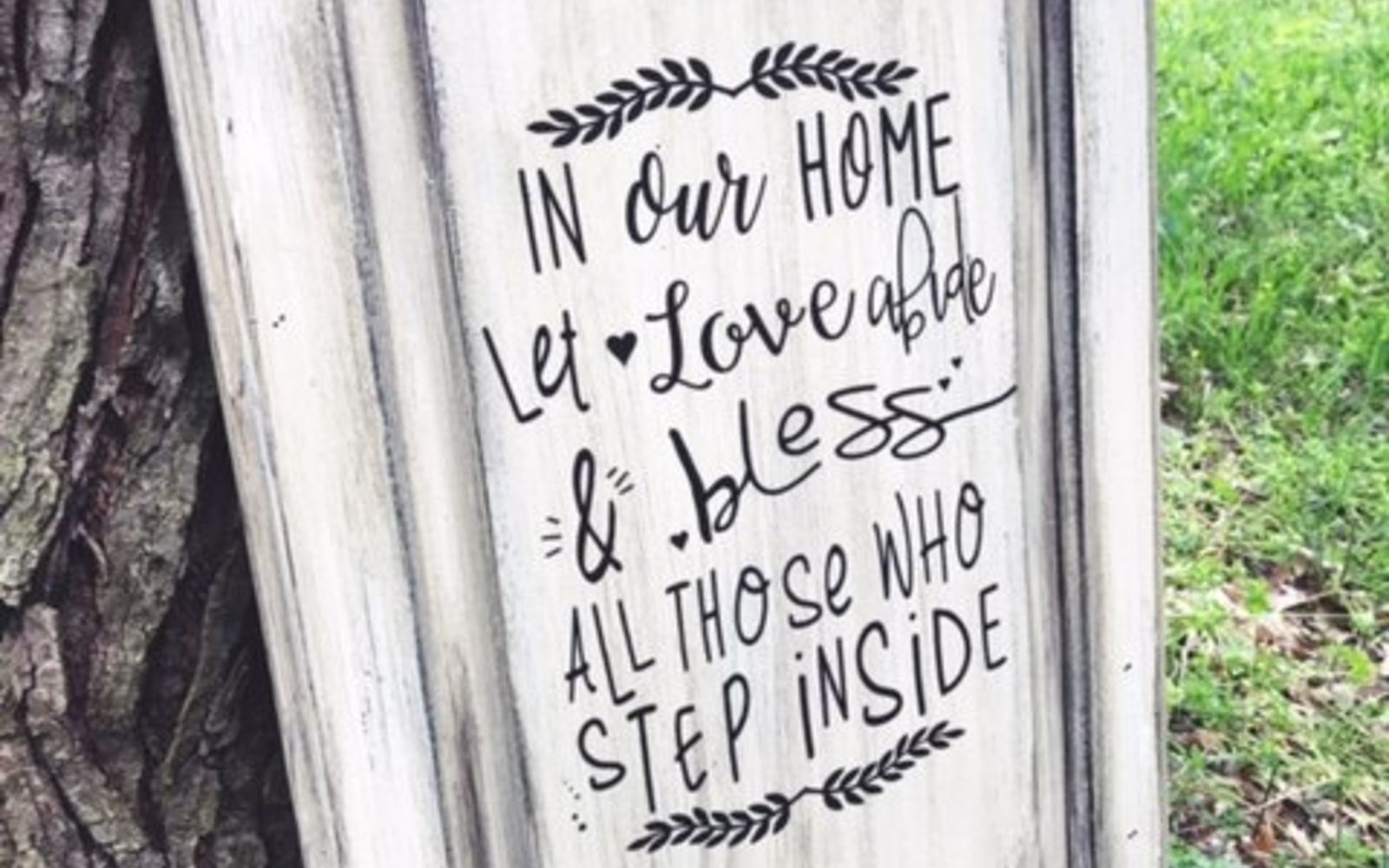 s rip off your cabinet doors for these brilliant upcycling ideas, Stick on your favorite quote