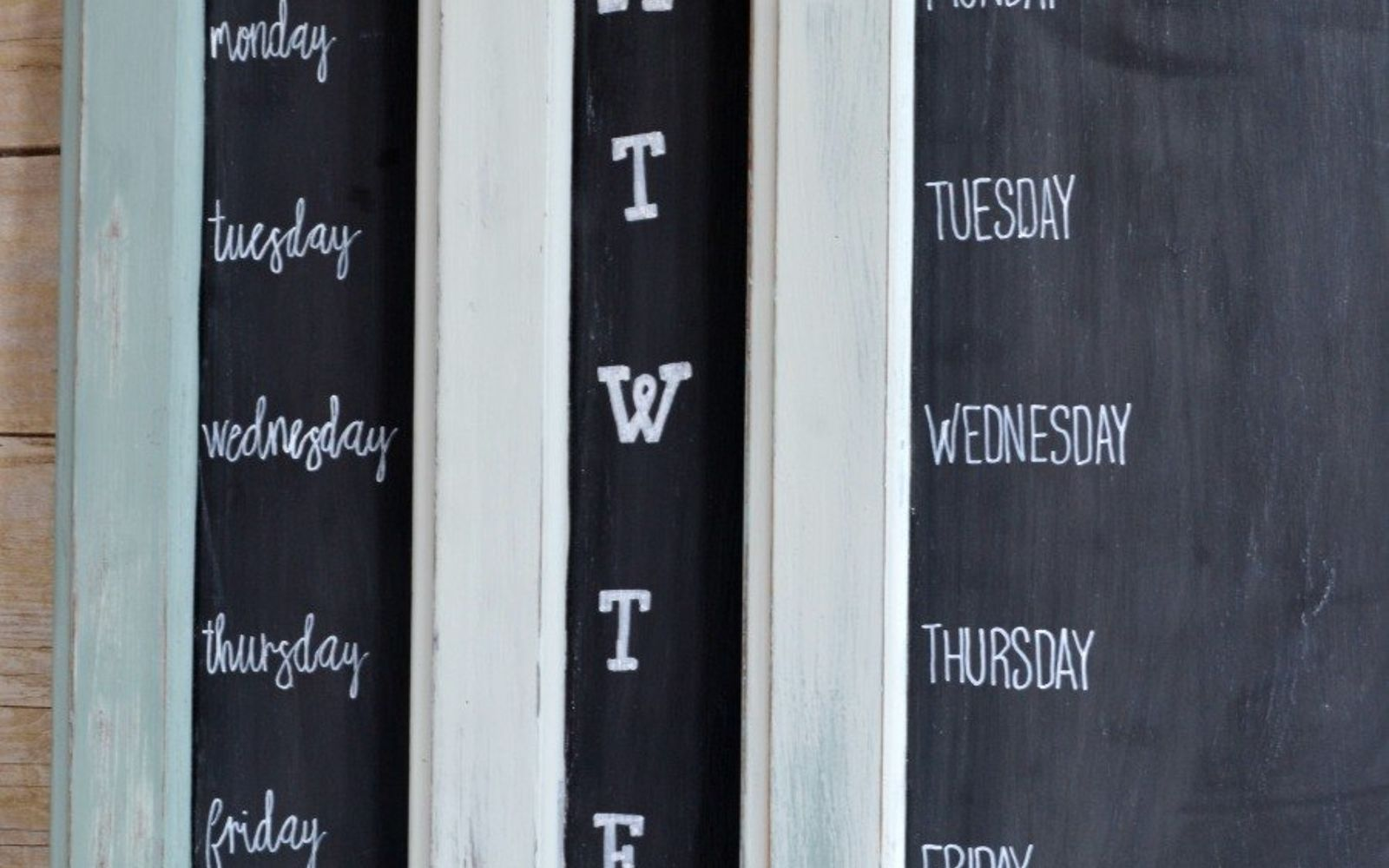 s rip off your cabinet doors for these brilliant upcycling ideas, Make the perfect menu planner