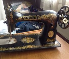 q old singer sewing machine