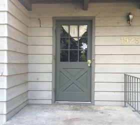 fall front porch copper door Before & Fall Front Porch \u0026 Copper Door | Hometalk