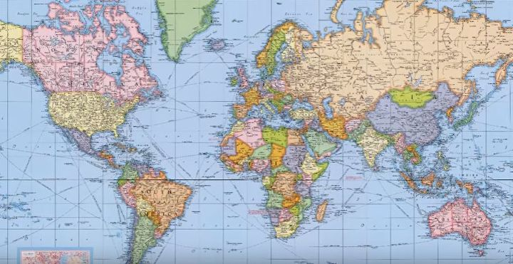 Make a corkboard world map hometalk make a corkboard world map gumiabroncs Images