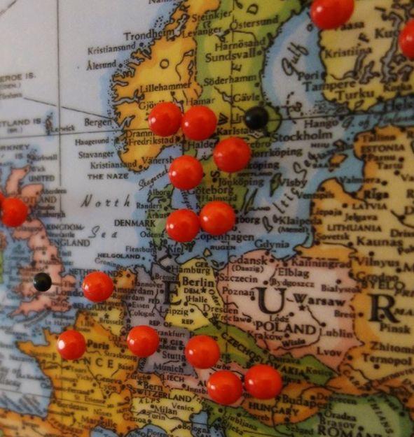 Make a corkboard world map hometalk make a corkboard world map gumiabroncs Images