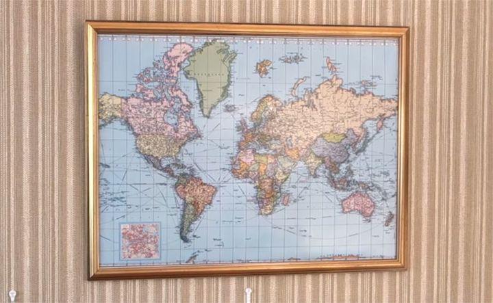 Make a corkboard world map hometalk make a corkboard world map gumiabroncs Choice Image