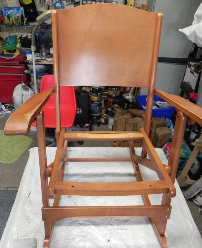 Rocking Chair Makeover A Diy Together Project Hometalk