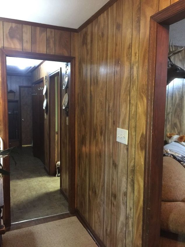 Light Wood Paneling: Painting 1970 Wood Paneling? How To Start? Primer Color