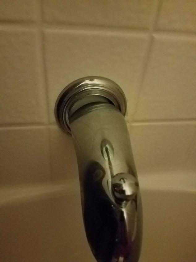 q how can i fix my tub faucet